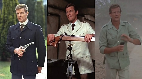 Roger Moore James Bond Safari Jacket