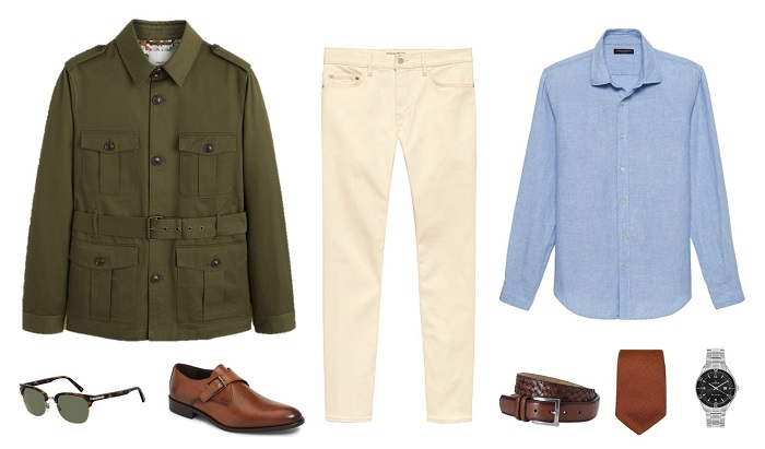 4 Ways to Wear the James Bond Safari Jacket