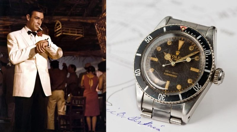 James Bond Rolex Submariner 6538