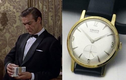 james bond dress watches Dr. No