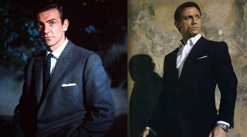 affordable James Bond wardrobe suits