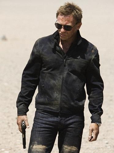 affordable Bond wardrobe Harrington Jacket