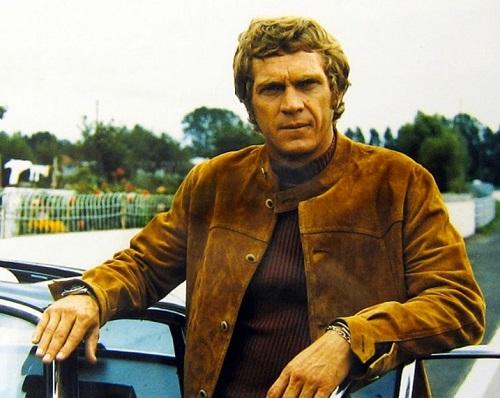 Steve McQueen Le Mans Suede Jacket