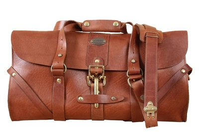 5 Things I Want October Leather Duffle Bag